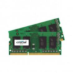 Memorie laptop Crucial 16GB DDR3 1600 MHz CL11 Dual Channel Kit - Memorie RAM laptop