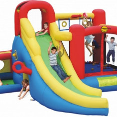 Saltea gonflabila Play center 11 in 1 Happy Hop, Multicolor
