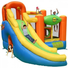 Saltea gonflabila Play center 10 in 1 Happy Hop, Multicolor