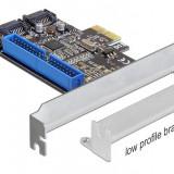 CONTROLER PCI E.>2X INT. SATA 6GB/S RAID+1X IDE DELOCK 89293