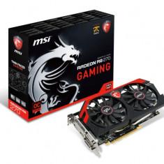 Placa video MSI AMD R9 270 GAMING 2G, R9 270, PCI-E, 2048MB GDDR5, 256 bit, 900MHz, 5600MHz, 2*DVI, HDMI, DP, OC, TWIN FROZR IV, FAN bulk - Placa video PC Msi, PCI Express, 2 GB, Ati