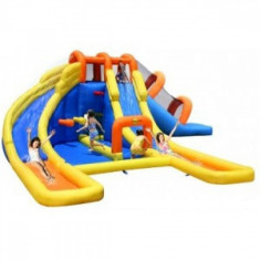 Saltea gonflabila Mini water park Happy Hop, Multicolor