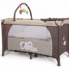 Patut Pliant Bebe 120 x 60 cm Sleepy Maro Moni - Patut pliant bebelusi