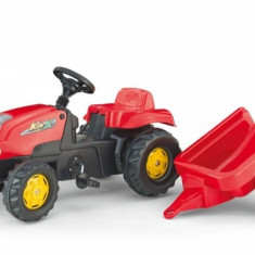 Tractor cu Pedale si Remorca copii 012121 Rosu Rolly Tolly Rolly Toys - Vehicul
