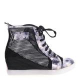 Sneakers dama Kizzy negru - Ghete dama