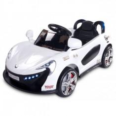 Masinuta electrica Aero 12V cu telecomanda Alb Toyz - Masinuta electrica copii