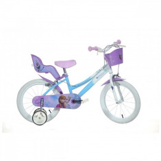 Bicicleta Frozen 14 inch Dino Bikes - Bicicleta copii