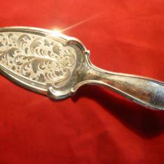 Piesa de Servit prajituri - Casa del Regalo Bomboniere, metal argintat, L= 20cm