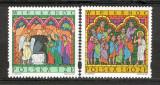 Polonia.2001 Sf.Pasti-Vitralii  SP.709, Nestampilat