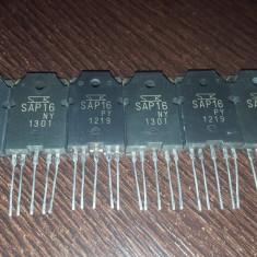 3 perechi Finali Tranzistori SAP 16 PY si SAP 16 NY sau pe pereche!