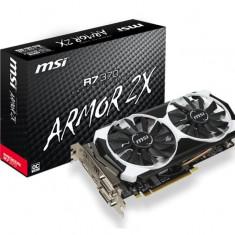Placa video MSI AMD R7 370 2GD, R7 370, PCI-E, 2048MB GDDR5, 256 bit, 970/1020MHz, 5600MHz, 2*DVI, HDMI, DP, OC, FAN bulk - Placa video PC Msi, PCI Express, 2 GB, Ati