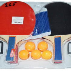 Set 4 Palete ping-pong + fileu - Badminton