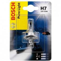Bec Far Bosch 1987301012 H7 Pure Light, 12V, 55W, 1 Bec Philips