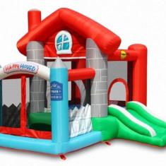 Saltea gonflabila Happy House Happy Hop - Casuta copii