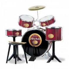 Set tobe Baterie Golden Drums Reig Musicales - Instrumente muzicale copii