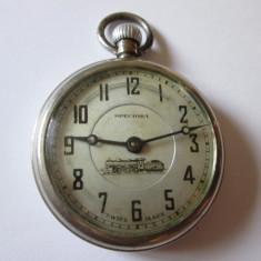Ceas elvetian de buzunar Speciosa, editie limitata pentru caile ferate anii 20 - Ceas de buzunar