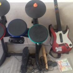 Set Band Hero - Tobe - Bete - Chitara - Microfon - Joc - PS3 - PlayStation 3, Kit accesorii