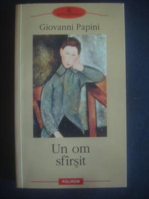 Giovanni papini un om sfarsit