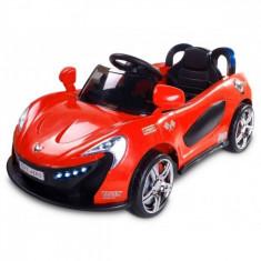 Masinuta electrica Aero 12V cu telecomanda Rosu Toyz - Masinuta electrica copii