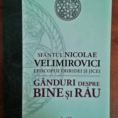 Ganduri despre bine si rau - Sfantul Nicolae Velimirovici