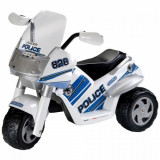 Tricicleta Raider Police-Polizei Peg Perego - Masinuta electrica copii