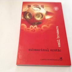 Emil Brumaru Submarinul erotic carte cu CD,R7