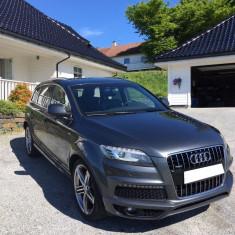 Audi Q7 3.0-245, pano, webasto, s-line, An Fabricatie: 2012, Motorina/Diesel, 114000 km, 3 cmc