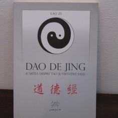 DAO DE JING-CARTEA DESPRE TAO - Carte ezoterism