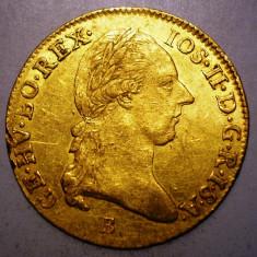 D.039 AUSTRIA JOSEPH II 1 DUCAT DUKAT 1786 B AUR 0.986 3, 49g - Moneda Medievala, Europa