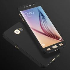 Husa Samsung Galaxy S6 Fata Spate 360 Neagra