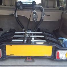 Suport auto 4 biciclete cu prindere pe carligul de remorcare - Suport Bicicleta