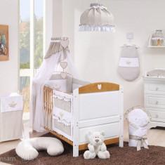 Patut transformabil Cuore White 140 x 70 Mamo-Tato - Patut lemn pentru bebelusi