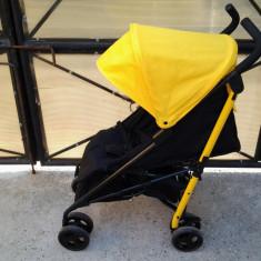 Tesco, Black & Yellow, carucior sport copii 0 - 3 ani - Carucior copii Sport Altele, Altele