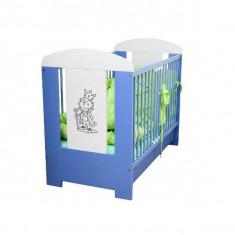 Patut din lemn cu sertar pentru copii Jardrew Prince PJP-2A - Patut lemn pentru bebelusi