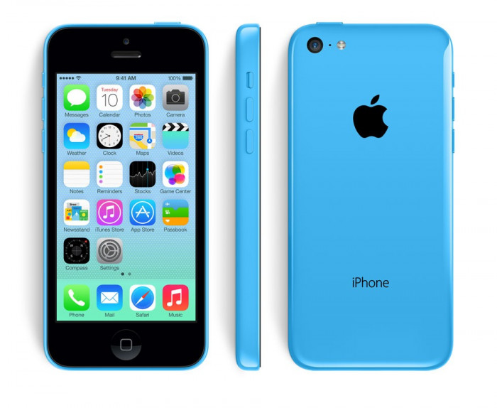 IPhone 5C 16GB Blue/GARANTIE 1 AN/Reinnoit/ Renewed by Grade ZERO foto mare