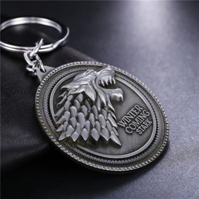 Breloc Game Of Thrones Winter is Comming Stark foto