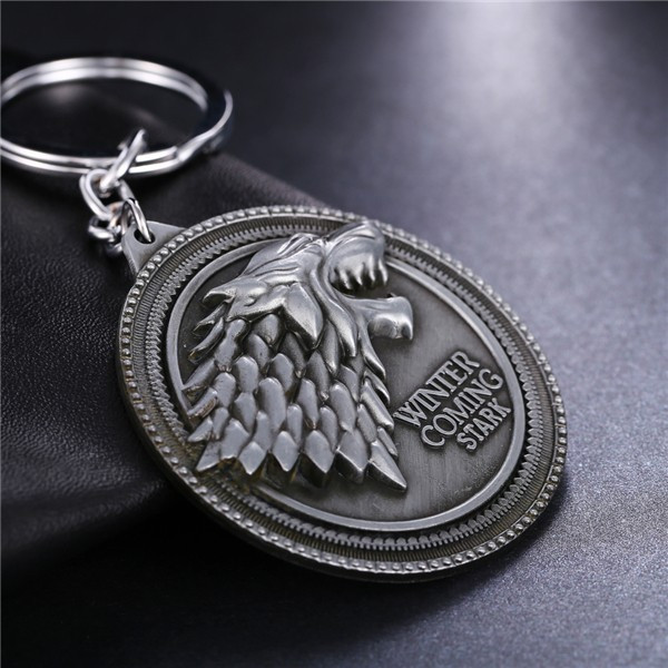 Breloc Game Of Thrones Winter is Comming Stark