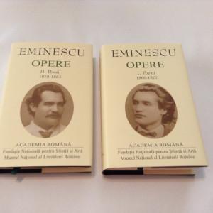 Mihai Eminescu - Opere - POEZII,2 VOL,R9