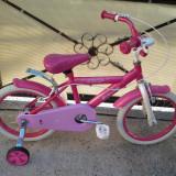 """Cosmic Princess, Pink, bicicleta copii - 16"""" (6-8 ani), Numar viteze: 1"""