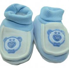 Botosei tip ciorapi pentru nou nascuti-NN BTS2-A, Albastru - Botosi copii