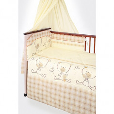Set Lenjerie de pat pentru copii din 2 piese Blanca F73-2 - Lenjerie pat copii