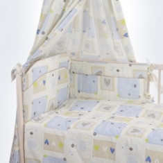 Set Lenjerie de pat pentru copii din 2 piese Blanca F30-2 - Lenjerie pat copii