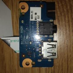 Placa Audio/USB board (audio jack, port USB, cablu) 758046-001 Hp 350 G1