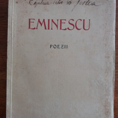 Poezii - Eminescu  1939 / R2P5F