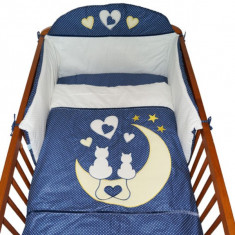 Set Lenjerie de pat pentru copii-Ty i My My Kitten 3 piese LPTMK3-B - Lenjerie pat copii