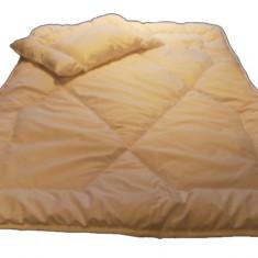 Set lenjerie de pat pentru copii Poldaun Vitamed SPV1A, Alb - Lenjerie pat copii