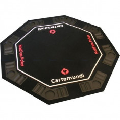 Tablă masă poker Carta Mundi 8 pers.