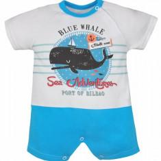 Salopeta de vara pentru baietei-Koala Moby Dick 04-968T1, Turcoaz