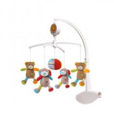 Carusel muzical BabyOno Ursuleti si Catelusi 1321M - Instrumente muzicale copii