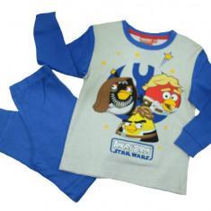 Pijama pentru baieti Angry Birds-Disney DISB-KPYJL45745A, Albastru